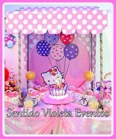Candy Bar Fondo Temático Minnie Mickey Batman Kitty Pepe - comprar online