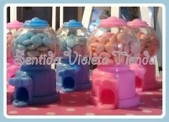 Imagen de Mini Candy Machine Dispenser Golosinas Rocklets Mym Souvenir