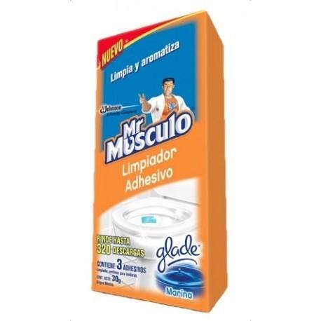Limpiador adhesivo Mr Musculo 4 en 1 marina