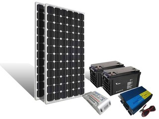 Kit Basico Off Grid De Vivienda
