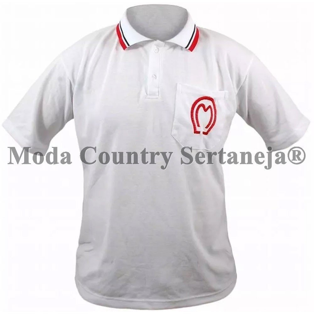 Camisa Country Cowboy - Mangalarga Polo MCS7812 e5535027cbe