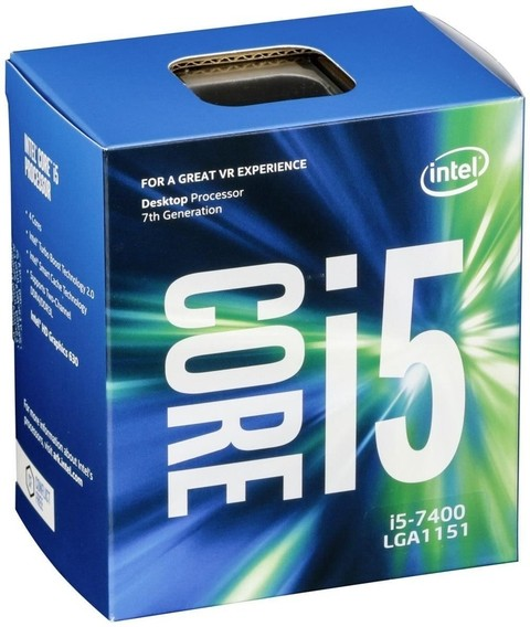 MICRO INTEL I5 7400 3.5Ghz 6MB S.1151 G/12 MESES