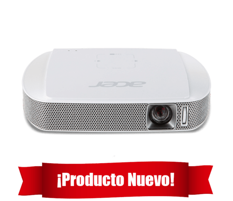 PROYECTOR ACER MINI C205 LED/HDMI/USB G/12 MESES