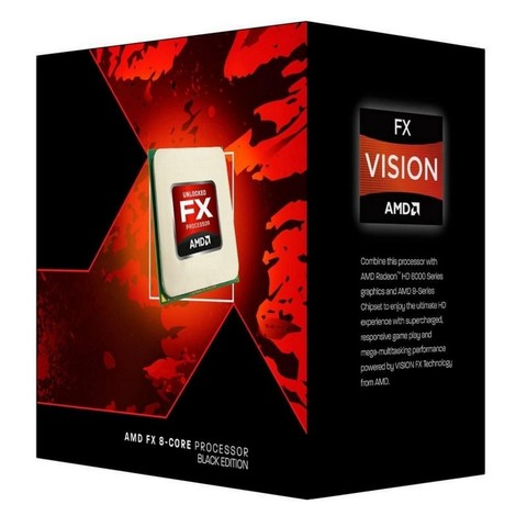 MICRO AMD FX-8350 4.0GHZ AM3+ BLACK EDITION G/12 MESES