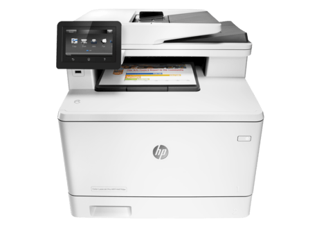 IMPRESORA HP LASER COLOR M477FDW MULTIFUNCION DUPLEX WIFI G/12 MESES