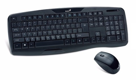 TEC+MOUSE WIFI GENIUS KB-8000X MULTIMEDIA G/3 MESES