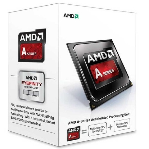 MICRO AMD APU  A4  6300 3.7GHZ 1MB FM2 G/12 MESES
