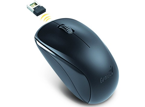 MOUSE GENIUS WIFI NX-7000 BLUE EYE NEGRO G/3 MESES