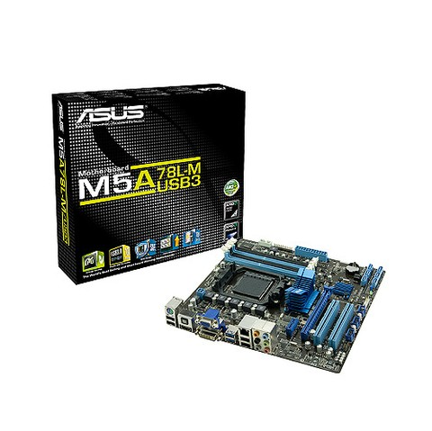 MB ASUS M5A78L-M USB3 AM3+ HDMI/PS2/USB 3.0/DVI G/12 MESES