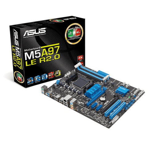 MB ASUS M5A97 LE R2.0 AM3+ PS2/USB3.0 G/6 MESES