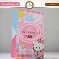 HELLO KITTY. Bolsa Sorpresas en internet