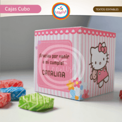 HELLO KITTY. Cajas Cubo en internet