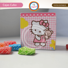 HELLO KITTY. Cajas Cubo - Laralusa