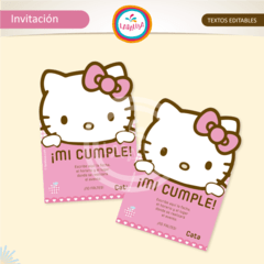 HELLO KITTY. Invitaciones - comprar online