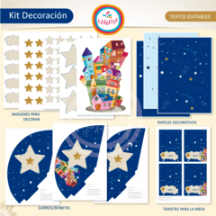 ESTRELLITA DONDE ESTAS. Kit Decoración en internet