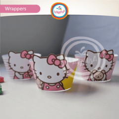 HELLO KITTY. Wrappers y Toppers en internet