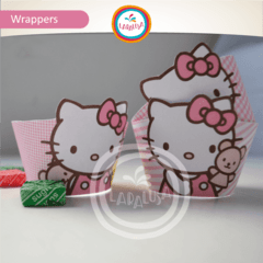 HELLO KITTY. Wrappers y Toppers - comprar online