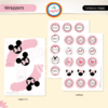 MINNIE ROSA. Wrappers y Toppers - comprar online