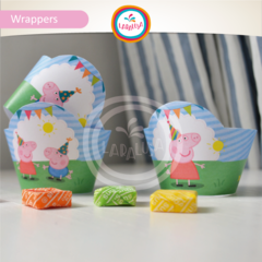 PEPPA. Wrappers y Toppers - Laralusa