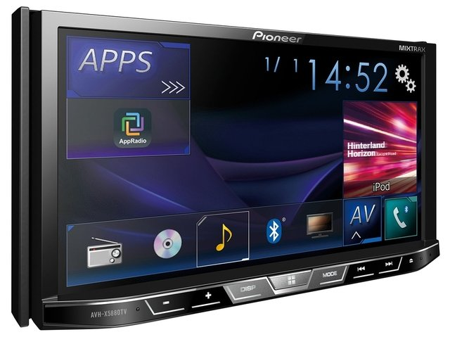 DVD Player Automotivo Pioneer Avh-X5880Tv 2-Din com TV Digital Bluetooth USB 7 Polegadas e Mixtrax - comprar online