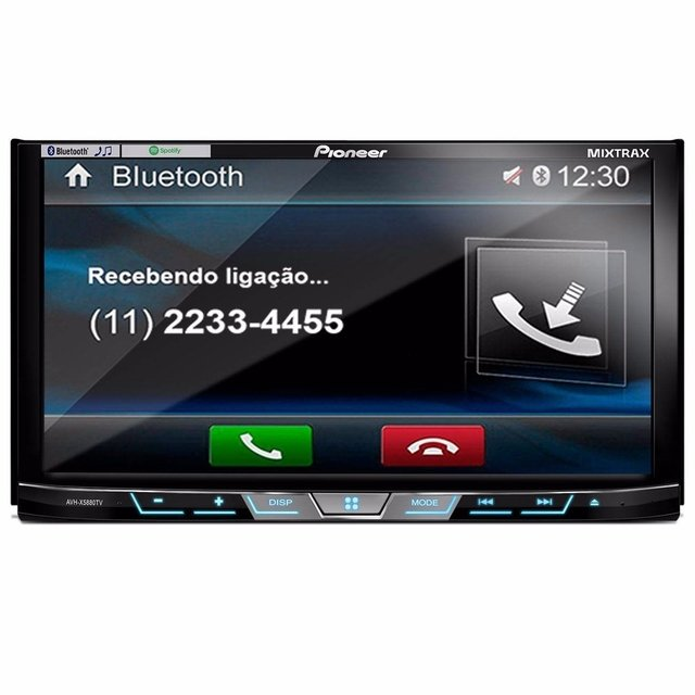 DVD Player Automotivo Pioneer Avh-X5880Tv 2-Din com TV Digital Bluetooth USB 7 Polegadas e Mixtrax na internet