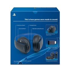 Headset Sony Wireless Stereo Gold - Ps3, Ps4 E Ps Vita