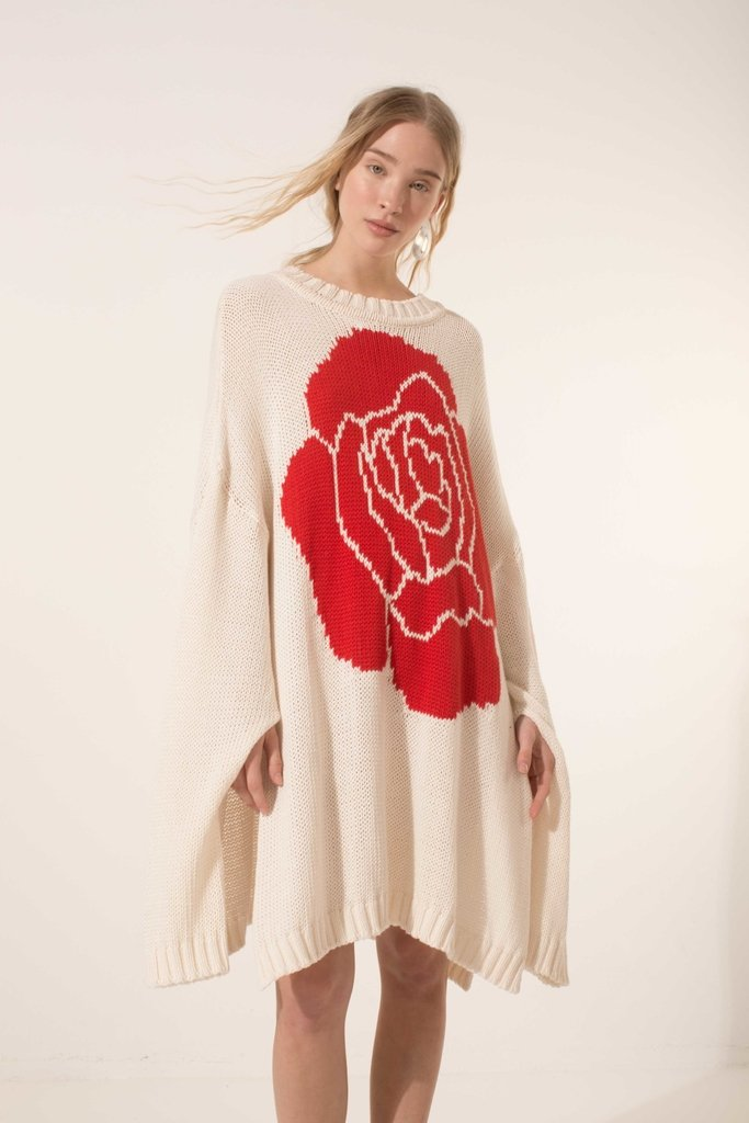 Flower - Sweater - Allo Martinez