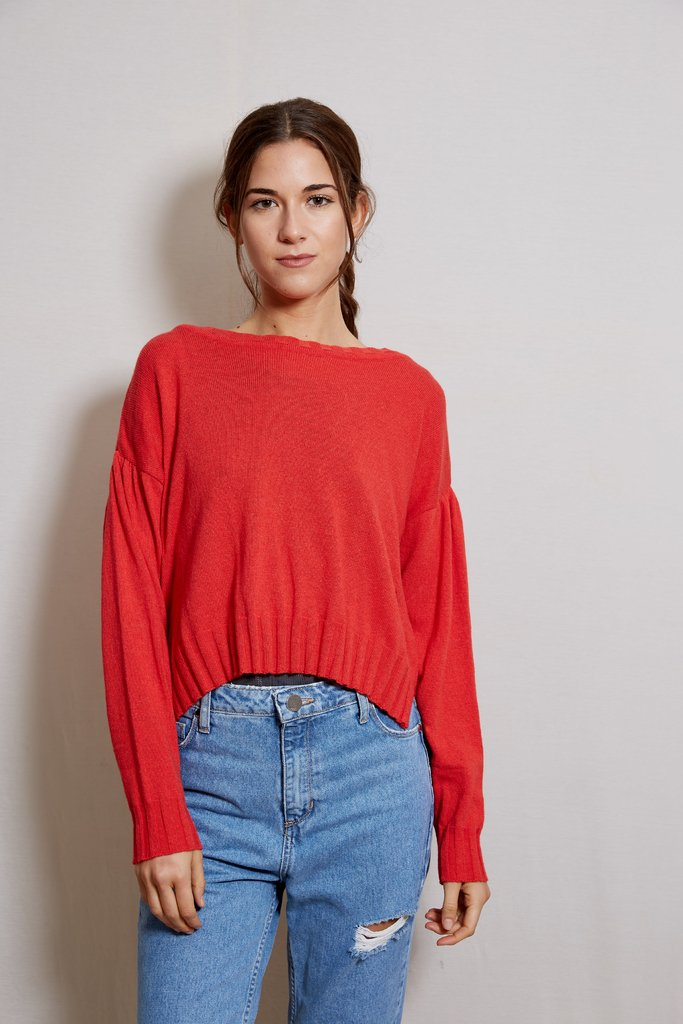 Sweater Holly Rojo