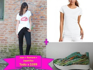 Combo! Pantalon + Remera + Zapatillas