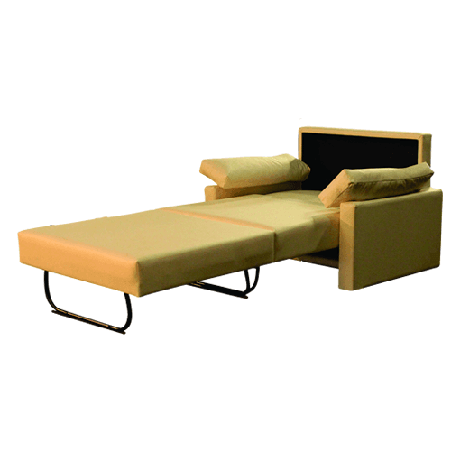 Sill n cama 1 plaza comprar en easy living for Sofa cama una plaza conforama