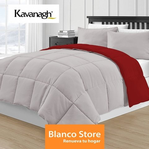 ACOLCHADO KING 2 PL SIMIL PLUMON REVERSIBLE en internet