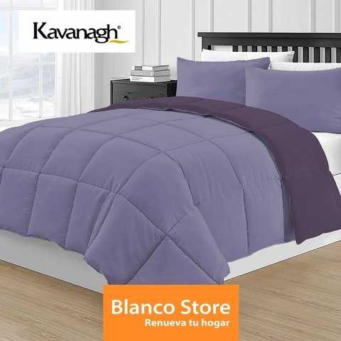ACOLCHADO KING 2 PL SIMIL PLUMON REVERSIBLE