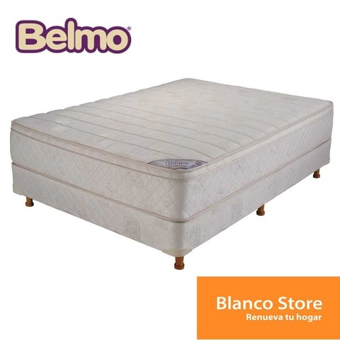 SOMMIER Y COLCHON BELMO BELSPRING PILLOW