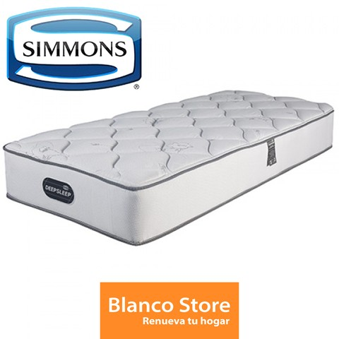 COLCHON TWIN 1 1/2 PL SIMMONS DEEPSLEEP