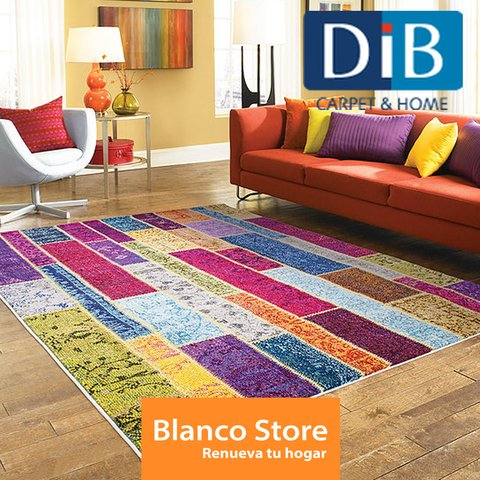 ALFOMBRA COLOR PATCHWORK DIB 160 X 230