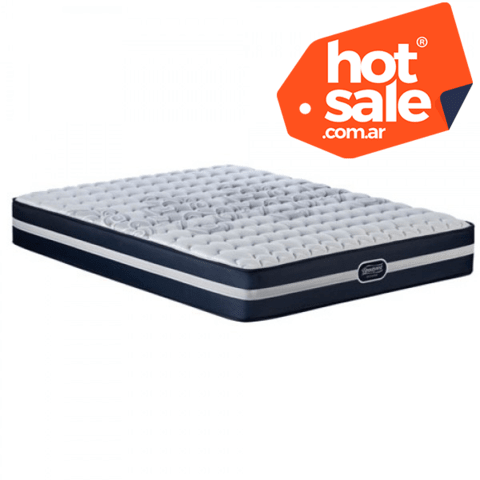 Colchón Simmons Beautyrest Recharge Classic 2 Plazas 190x140 HOT SALE!