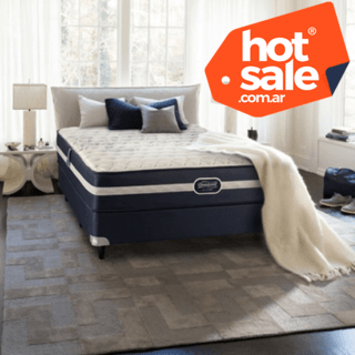 Sommier Simmons Beautyrest Recharge Classic King 200 x 200 HOT SALE! - comprar online
