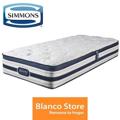 COLCHON 1 1/2 PL SIMMONS BEAUTY SMART ELEGANCE