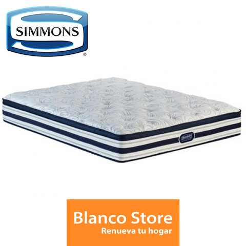 COLCHON QUEEN 2 PL SIMMONS BEAUTY SMART ELEGANCE - comprar online