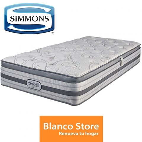 COLCHON QUEEN SIMMONS BEAUTYREST WORLD CLASS SPA - comprar online