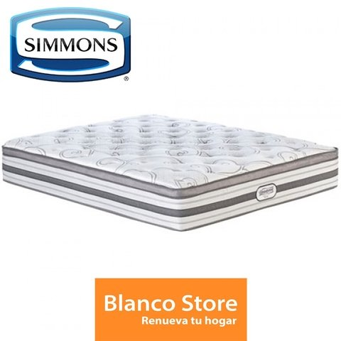 COLCHON QUEEN SIMMONS BEAUTYREST WORLD CLASS SPA