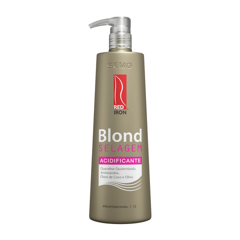 Red Iron Blond Selagem Acidificante 1000ml