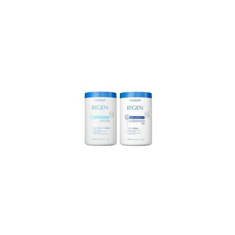 Alfaparf Duo Rigen Milk Protein Plus Nourishing+Rigen Milk Protein Plus Real Cream 2x1Kg