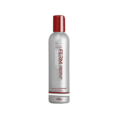 Avlon Ferm Neutralizing Solution 475ml - Passo 3