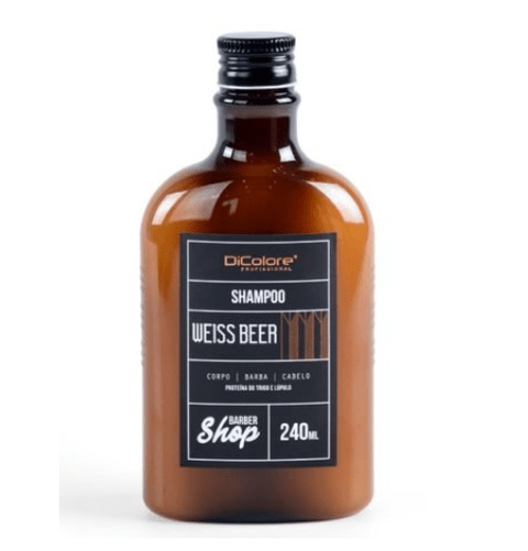 Dicolore Barbershop Shampoo Weiss Beer 240ml - ST