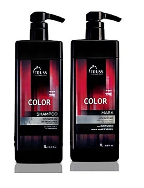 Kit Truss Lavatório Duo Color Hair Shampoo 1000ml + Color Hair Mask 1000ml
