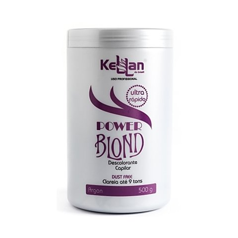 Kellan Pó Descolorante Power Blond 500g