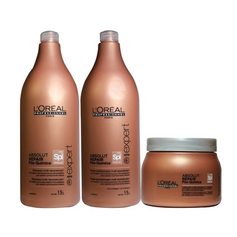 Kit Loreal Professionnel Absolut Repair Pós-Química Grande