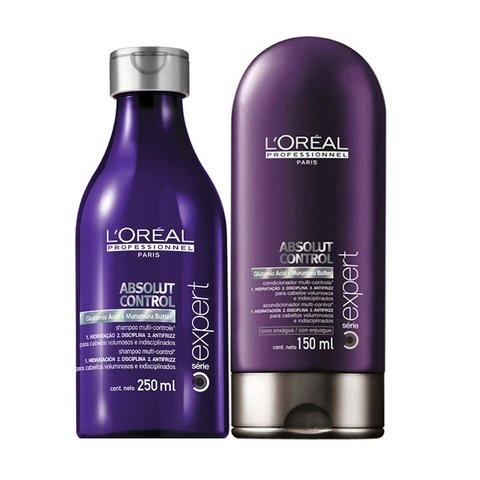 Kit Loreal Professionnel Absolut Control Shampoo 250ml + Condicionador 150ml