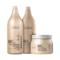 Kit Loreal Professionnel Absolut Repair Cortex Lipidium 3 Prod Grande